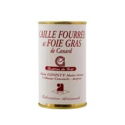 Caille fourée au foie gras de canard (190gr)