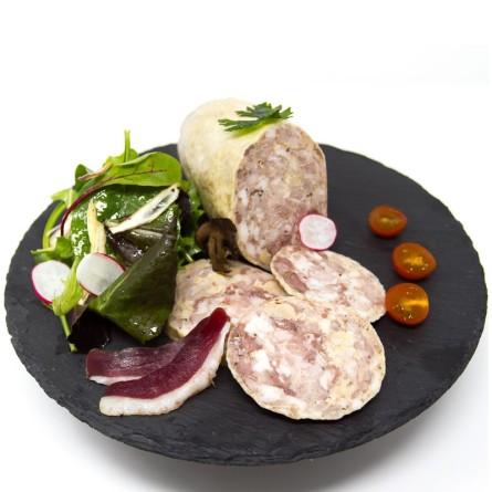 Cous de canard farcis au foie gras