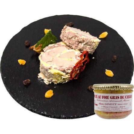 Pâté au foie gras de canard (50%)