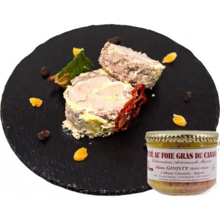 Pâté au foie gras de canard (20%)