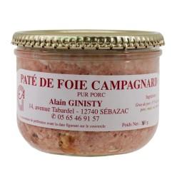 Pâté au foie campagnard (380gr)