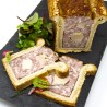 pâté en croûte au foie gras de canard