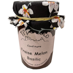 Confiture Ti'po Loco - fraise melon basilic (240g)