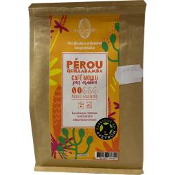 Café moulu pur arabica PEROU rond et gourmand