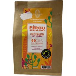Café en grain pur arabica PEROU rond et gourmand
